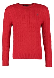 Polo Ralph Lauren Cable Jumper Red