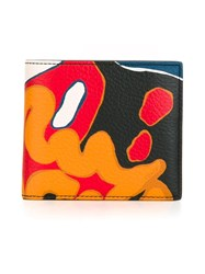 Coach Graphic Print Billfold Wallet Multicolour