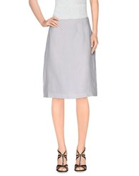 Strenesse Skirts Knee Length Skirts Women White