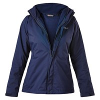 Berghaus Caliston Alpha 3 In 1 Waterproof Women's Jacket Blue