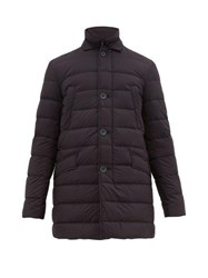 Herno Legend Il Cappotto Down Filled Jacket Navy