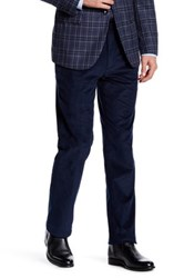 Paisley And Gray Blue Corduroy Flat Front Trouser 30 32 Inseam