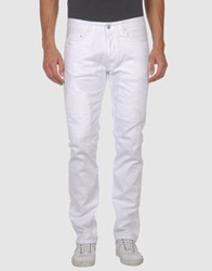Mgnerd Denim Pants White