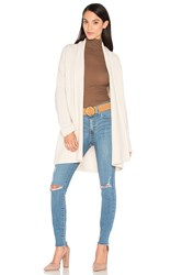 Vince Textured Shawl Cardigan Cream