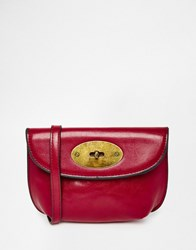 Liquorish Mini Cross Body Bag Red