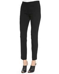 Narciso Rodriguez Cropped Wool Crepe Pants 42 6