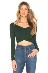 Lovers Friends Everly Top Dark Green