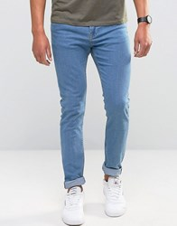 Only And Sons Skinny Jeans Light Washed Blue