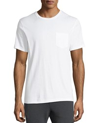 Ralph Lauren Jersey Pocket T Shirt White