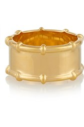 Arme De L'amour Bamboo Gold Plated Ring