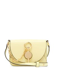 J.W.Anderson Jw Anderson Nano Keyts Leather Cross Body Bag Light Yellow