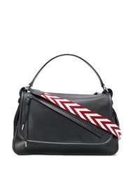 Bally Chevron Shoulder Strap Tote 60