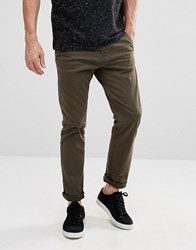 Tom Tailor Chino In Slim Fit 7792 Olive Green