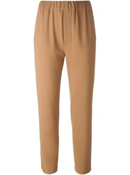 Forte Forte High Waisted Trousers Nude And Neutrals