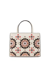 Kate Spade Thompson Street Sam Embellished Satchel Bag Cement