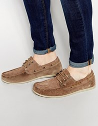 Jack And Jones Jack And Jones Singapore Boat Shoes Brown