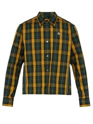 Undercover Bloody Geekers Checked Shirt Green