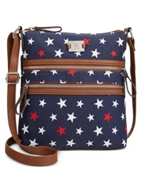 Styleandco. Style And Co. Veronica Crossbody Only At Macy's Blue Stars