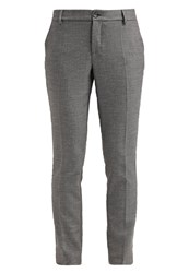 Opus Elise Trousers Light Grey Anthracite