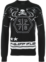 Philipp Plein 'Yeah' Sweater Black