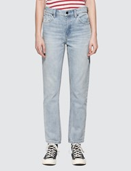 Alexander Wang Cult Side Zip Jeans