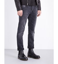 Nudie Jeans Grim Tim Dark Days Regular Fit Straight Leg