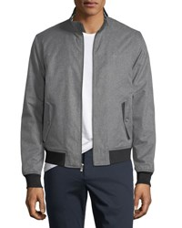 Penguin Harrington Heathered Jacket Gray