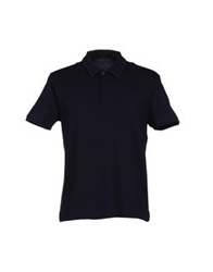Cruciani Polo Shirts Dark Blue