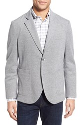 Men's Brooks Brothers Regular Fit Oxford Knit Blazer Grey