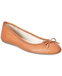 Alfani Women's Aleaa Ballet Flats Only At Macy's Women's Shoes Cognac
