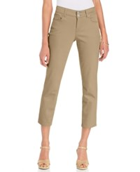 Styleandco. Style And Co. Curvy Fit Capri Pants French Birch