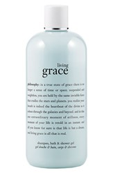 Philosophy 'Living Grace' Shampoo Bath And Shower Gel No Color
