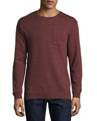 Wesc Bade Heathered Sweatshirt Light Purple