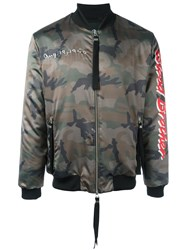 Blood Brother Loyal Bomber Jacket Green