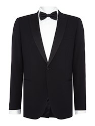 Chester Barrie Slim Fit Black Dinner Suit