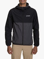 Berghaus Corbeck 'S Hooded Jacket Jet Black Grey