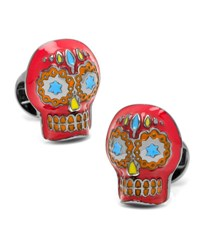 Cufflinks Inc. Day Of The Dead Skull Cuff Links