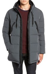Marc New York Holden Down And Feather Parka Charcoal
