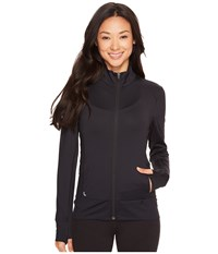 Lole Essential Up Cardigan Black 1 Women's Workout