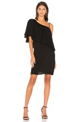 Ella Moss Stella One Shoulder Dress Black