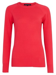 French Connection Babysoft Raglan Crew Neck Jumper Riot Red