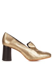 Rachel Comey May Mid Heel Pumps Gold