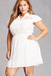 Forever 21 Plus Size Belted Mini Dress