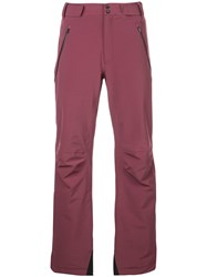 Aztech Mountain Team Ski Trousers Red