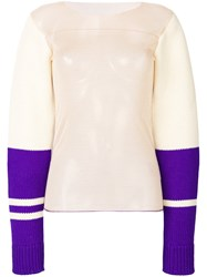 Calvin Klein 205W39nyc 205W39nycheer Colourblock Pullover Wool S