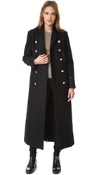 Versus Long Coat Black