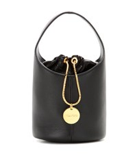 Tom Ford Miranda Micro Leather Bucket Bag Black