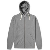 Nudie Jeans Nudie Elvin Zip Hoody Grey