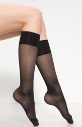 Women's Oroblu 'Mi Bas Repos 70' Sheer Support Knee Highs Black