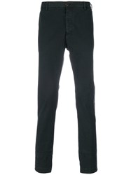 Al Duca D'aosta 1902 Classic Fitted Trousers Black